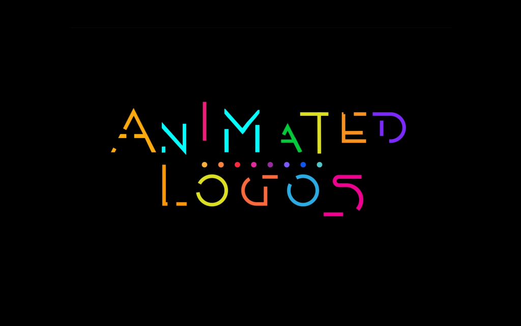Animated logo banner