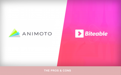 The Pros and Cons of Biteable and Animoto